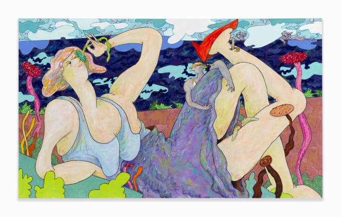 Repose by Gladys Nilsson