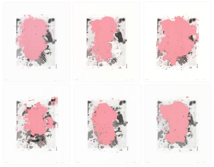 Portraits (b/w) by Christopher Wool
