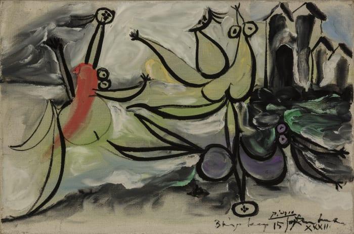 Les trois baigneuses by Pablo Picasso