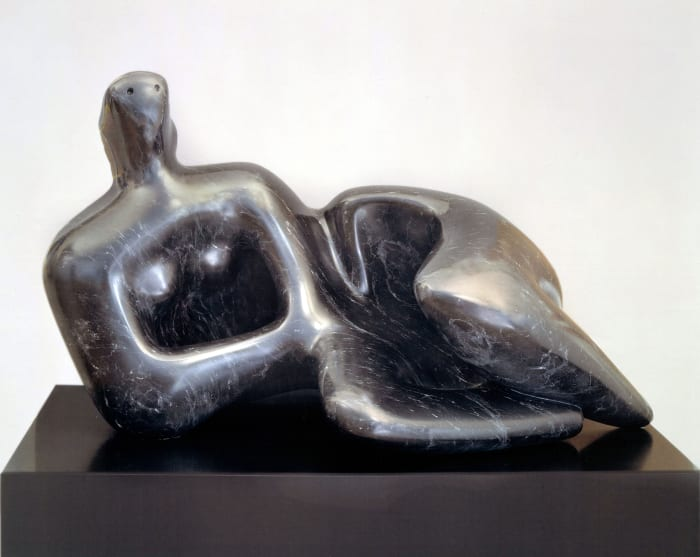 RECLINING FIGURE: CURVED by Henry Moore
