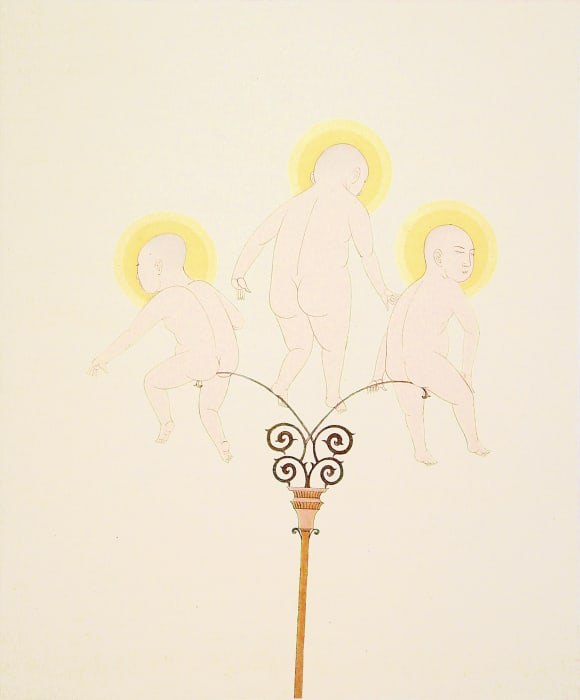 Three Angels by Wilson Shieh