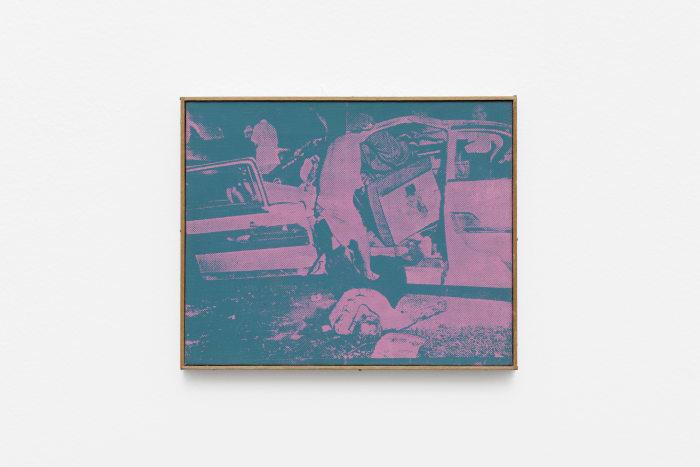 Andy Warhol, Saturday Disaster, 1964 by Richard Pettibone