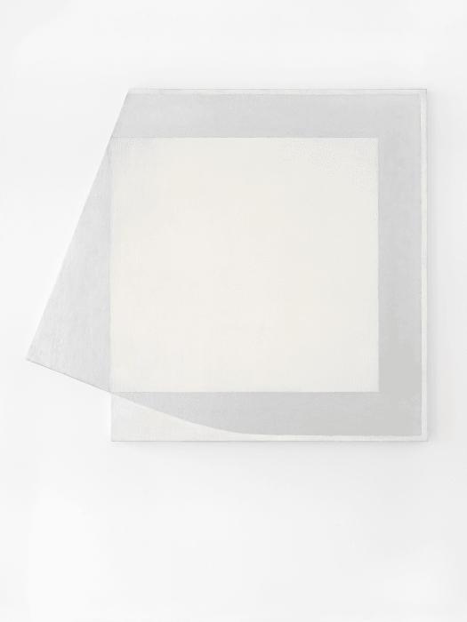 White Miner by Harvey Quaytman