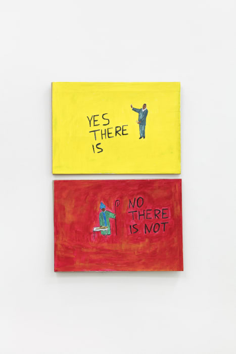 YES THERE IS – NO THERE IS NOT by Paulo Nazareth