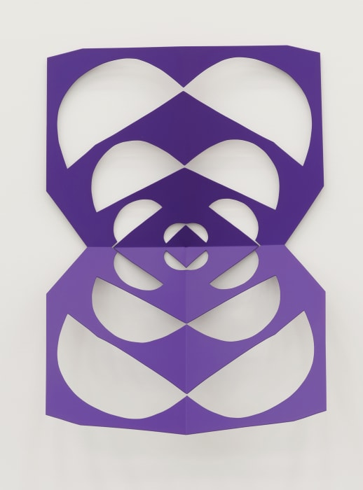 Cutout (Sinbad Purple) by Matt Keegan