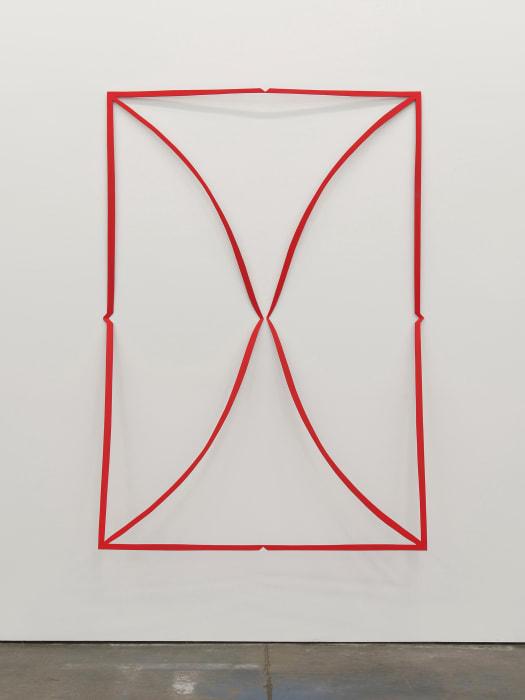Cutout (Flame Red) by Matt Keegan