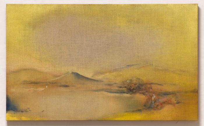 Yellow Scape by Leiko Ikemura