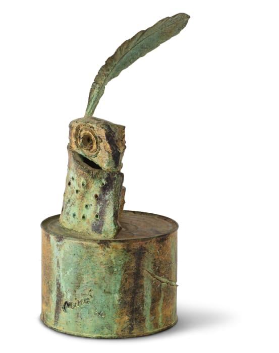Personnage à la plume by Joan Miró