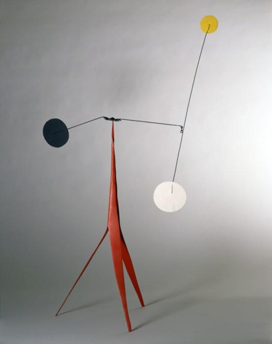 Frère (maquette) by Alexander Calder