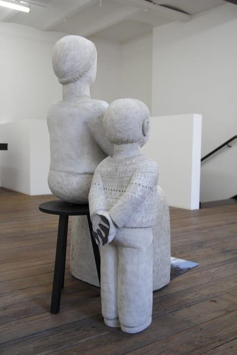 Madonna and Boy by Anna Hulačová