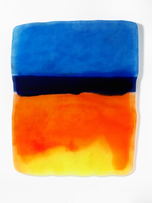 Depression Elevations (Deep Water Sunrise) by Daniel Knorr