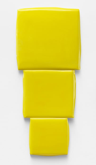 Descending Squares by Mary Heilmann