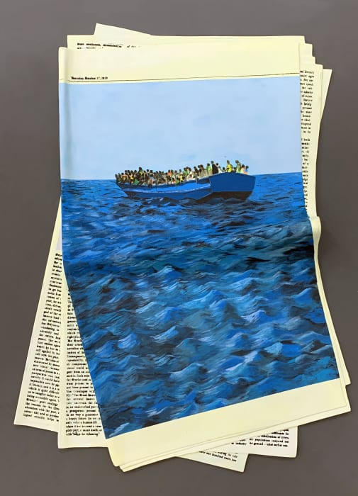 Refugees by Vanderlei Lopes