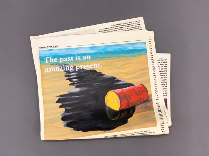 The past is an amazing present by Vanderlei Lopes