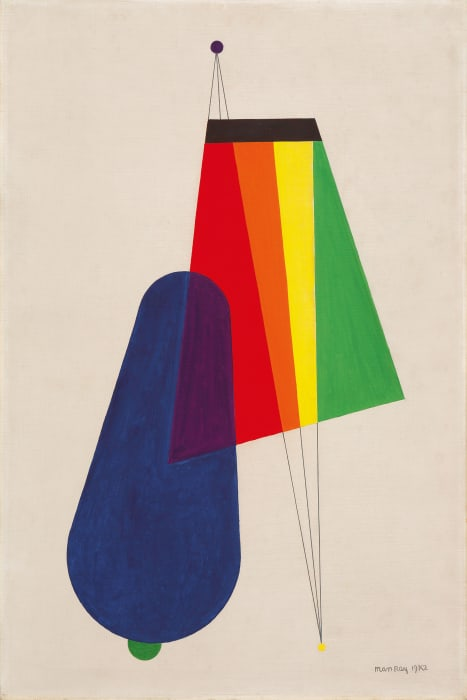 Revolving Doors II: Long Distance by Man Ray