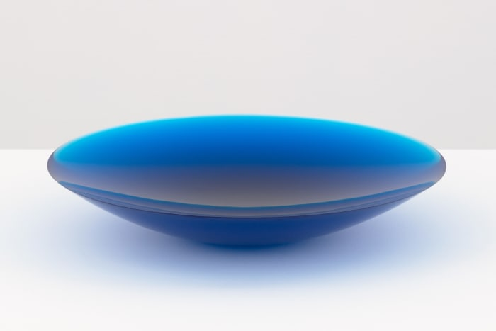 Untitled (double parabolic lens) by Fred Eversley