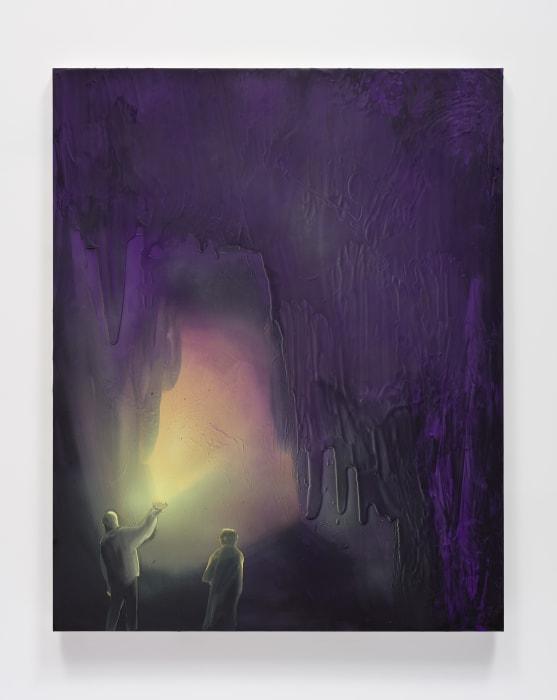 Cave Interior (Limelight) by Tala Madani
