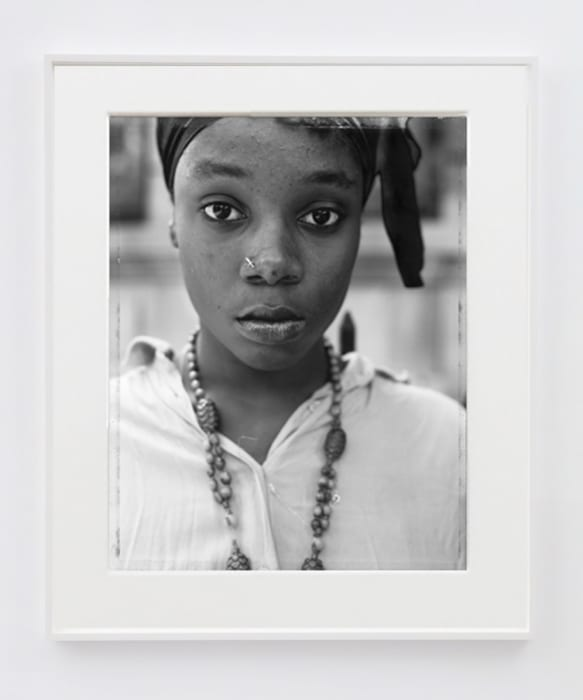 A Girl with a Knife Nosepin, Brooklyn, NY by Dawoud Bey