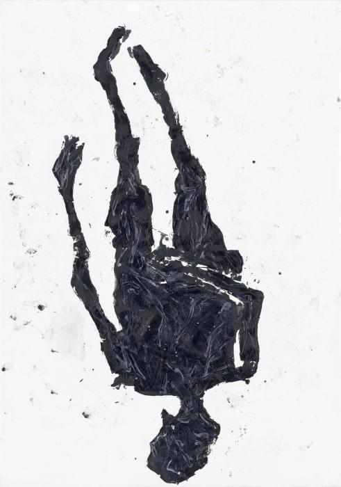 Das Ziel, Signora, ist links by Georg Baselitz