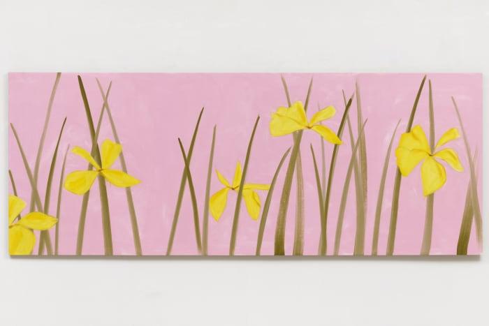 Yellow Flags by Alex Katz