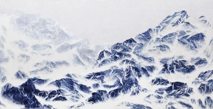 Cyano-Collage 070 by Wu Chi-Tsung