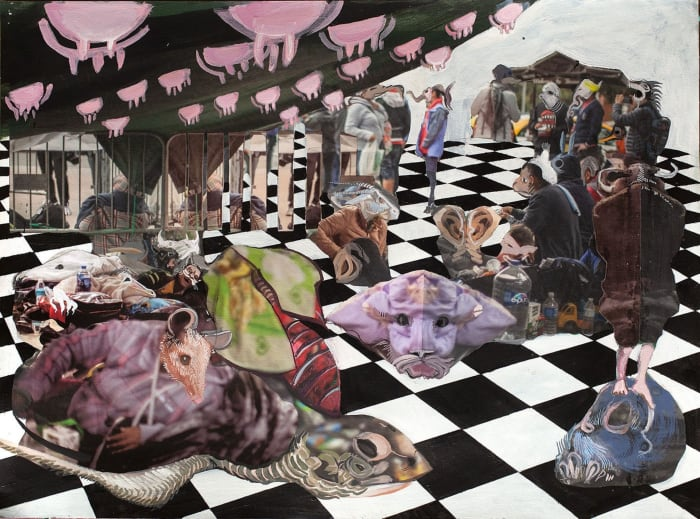 Where to? Wherever It Chances by Ramin Haerizadeh, Rokni Haerizadeh, Hesam Rahmanian