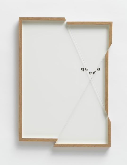 quadroquadro (queda) by Renata Lucas