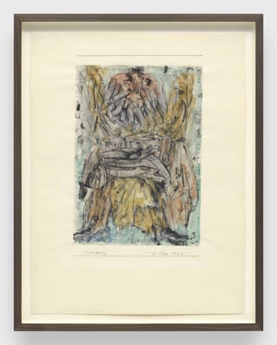 wilder Mann (Wild man) by Paul Klee
