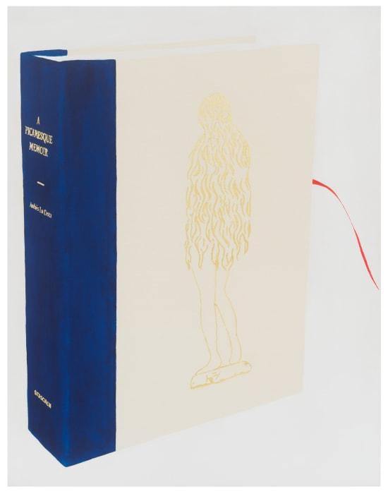 """A book object made for Parkett in 2013 called Dishonest But Appealing"" by Frances Stark"
