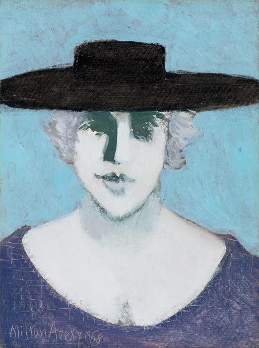 Black Hat by Milton Avery
