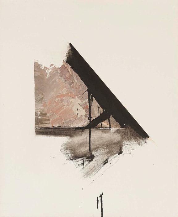 Study for Verdict by Jay DeFeo