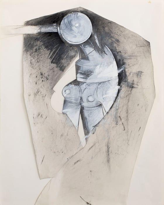 Untitled (Dressed Tripod) by Jay DeFeo