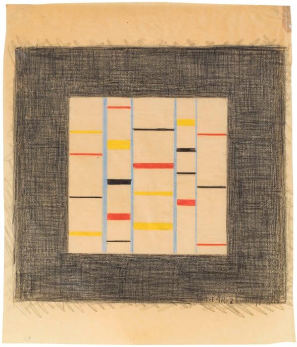 Untitled (Third Theme) by Burgoyne Diller