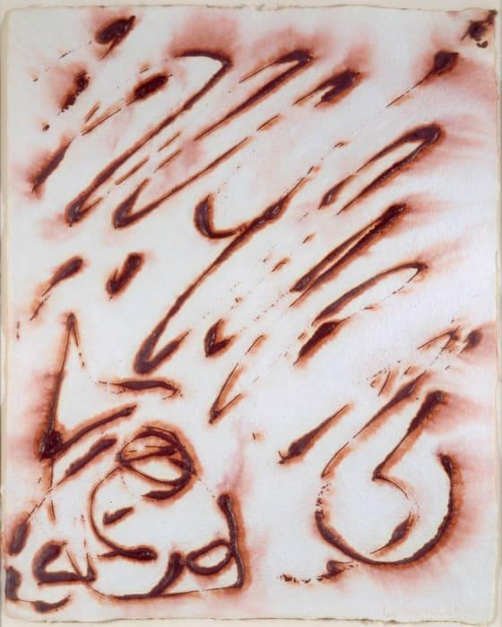 Hieroglyphs No.2 by Lee Krasner
