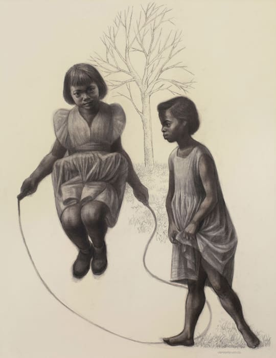 Skipping by Charles White