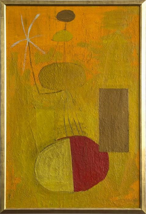 Orange Personage by Robert Motherwell