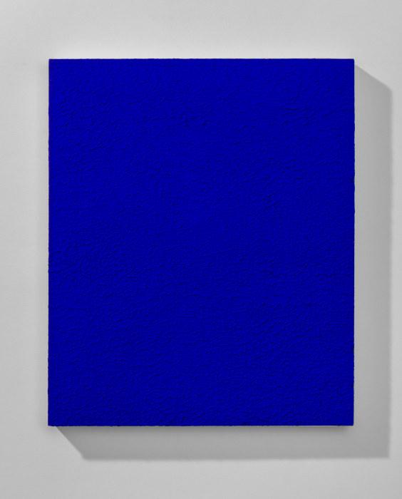Monochrome bleu (IKB 242 A) by Yves Klein
