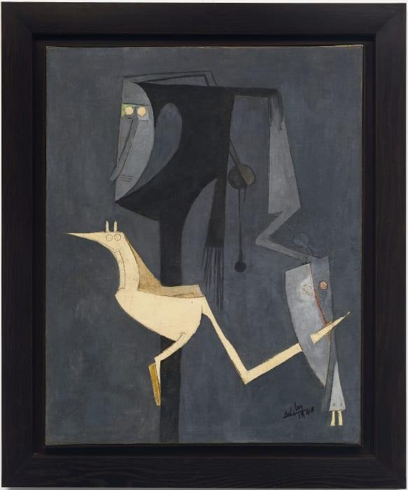 L'oiseau blanc, I by Wilfredo Lam