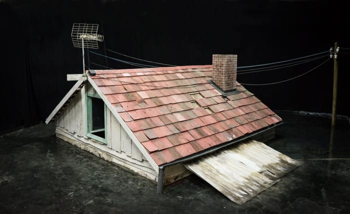 Prop, Flood, Roof by Rinus Van de Velde