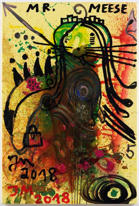 """""""Der de Graf """"D.A.F."""" von Monte """"Johnny"""""""" by Jonathan Meese"""
