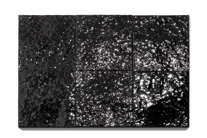 Untitled (Black Earth Series) by Mary Corse