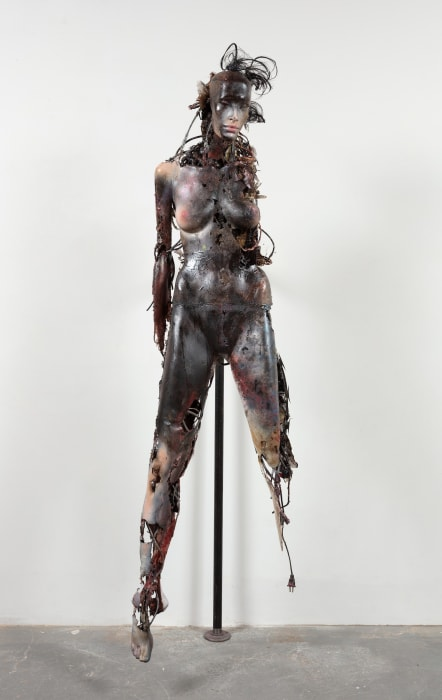 Don't Touch Me (Unidentified Figure I) by Stewart Uoo