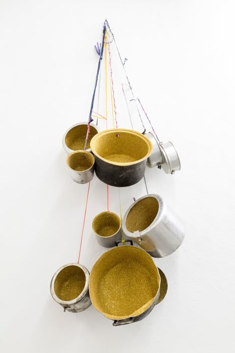Ritual Pots by Pascale Marthine Tayou