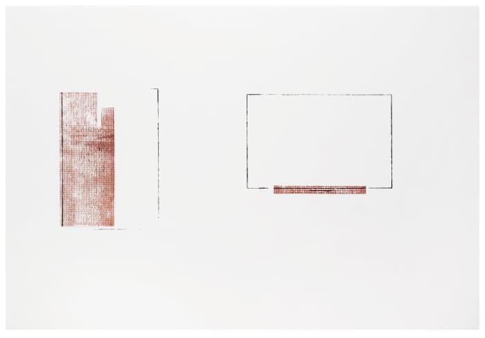 "Study for ""Nobody's Voice"" by Florian Pumhösl"