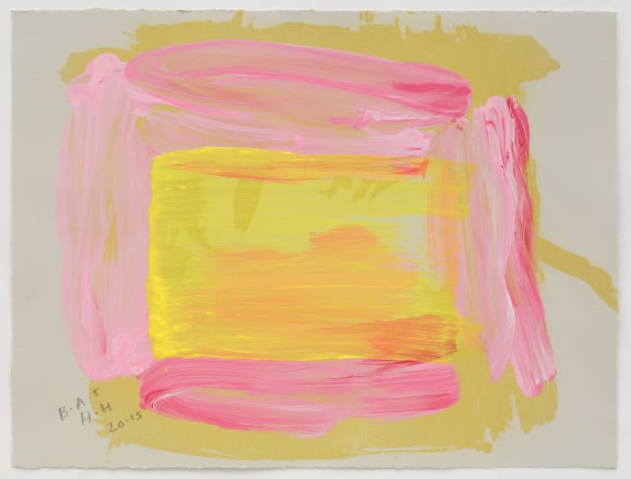 A Pale Reflection by Howard Hodgkin