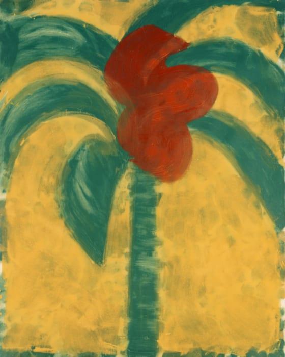 Flowering Palm by Howard Hodgkin