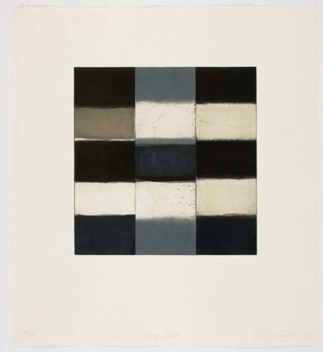Grey Robe by Sean Scully