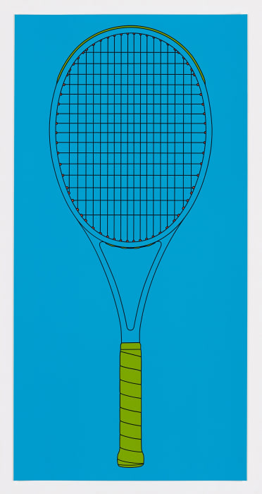 Racket by Michael Craig-Martin