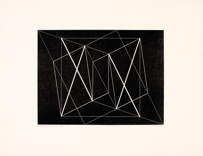 Transformation C by Josef Albers
