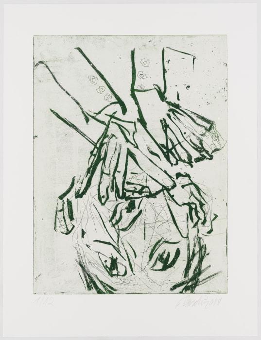 de Kooning by Georg Baselitz